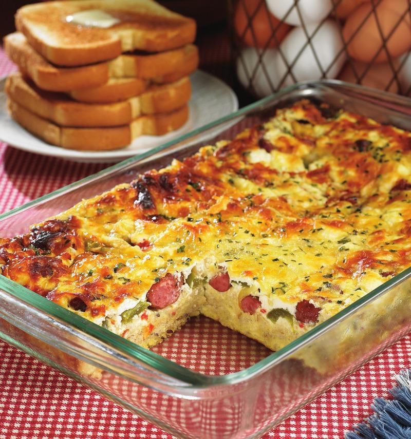 Sausage & Egg Pie