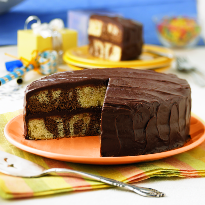 Marble Layer Cake Mygreatrecipes